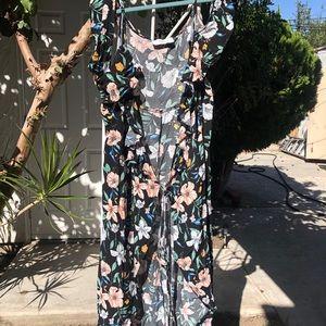 Maxi Wrap Around Dress